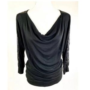 THREE DOTS BLOOMINGDALES Sequined Blouse